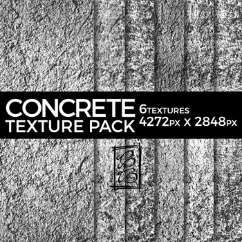 [Stock] Concrete Texture Pack by dimawari