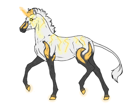 N2555 Padro Foal Design - Radioactive Promise by DreamDrifter91