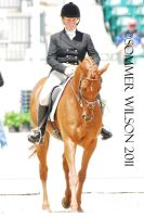 Collen Rutledge Dressage V by zeeplease