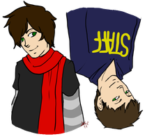 Brian and Evan by KrioLynn