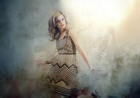 Emma Watson Wallpaper by SolidSnake35