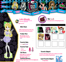 Monster High Oc Loire by DisneyInazuma