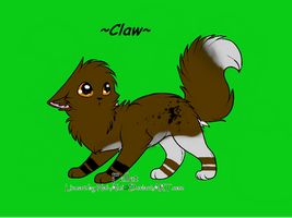 Claw's OC by peachy11060