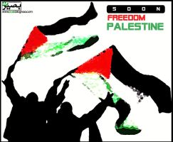 freedom palestine by niyakii