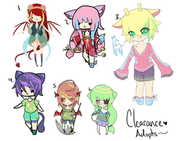 Clearance Adopts - CLOSED by chuguri