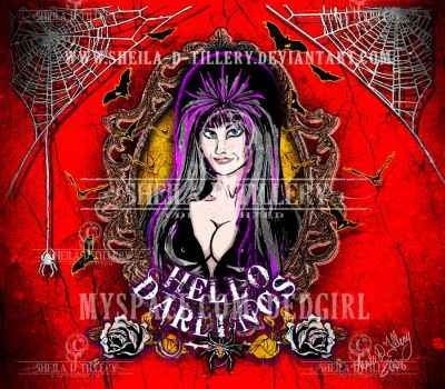 Darling Elvira by Sheila-D-Tillery
