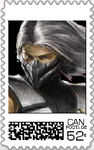 Smoke Postage Stamp by WOLFBLADE111