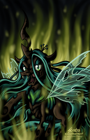 Queen Chrysalis - The Change by SouthParkTaoist