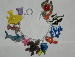 Finding Nemo Bracelet by Secretvixen