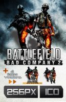 Bad Company 2 and Vietnam Icon by bfrheostat