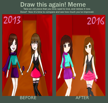 draw this again meme by Paoloid