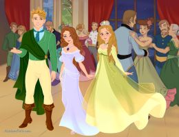 Sofia The First - Princess Sofia and siblings by marciapimenta