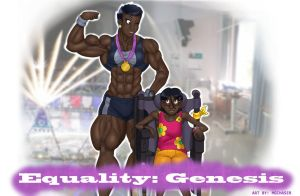 Equality: Genesis - Cover image! by MagnusMagneto