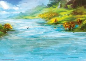 The Great River by kovah