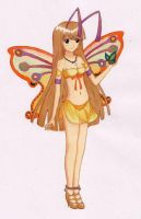 Butterfly Girl by magicshinya