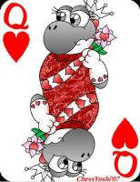 Queen Of Hearts II by ChessYoshi