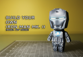 MAKE AN IRON MAN MK 2! (Model download inside) by eduranofficial
