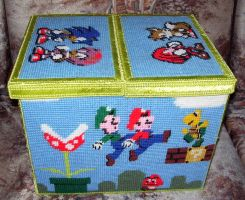 Nintendo Game Box by ladytech