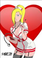 Ino Sexy Nurse by sinse90