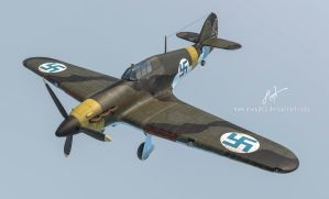 Finnish Air Force Hawker Hurricane by rOEN911