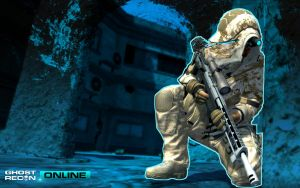 Ghost Recon ONLINE Wallpapers by NK DESIGN 4 by neonkiler99