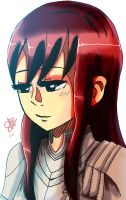 Erza by GreatPeace