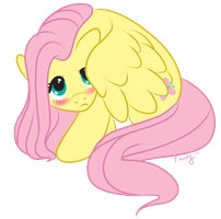 Fluttershy by LittleTihany
