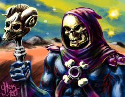 Skeletor! by chrismoet