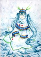 Snow Miku by Narumo