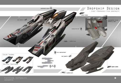 Dropships - Light by johnsonting