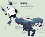 Swamp Waterdog Reference 2015 by Kainaa