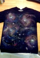 Galaxy T-shirt by lishlitz