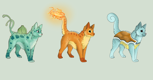 Pokemon CATS Auction -5 Point start!- (CLOSED) by Arklen