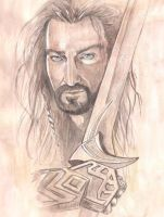 Thorin Oakenshield by soophieO