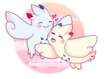 togekiss valentine by fIower-pup