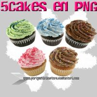 Pastelitos en PNG by PartyWithTheStars