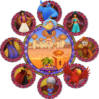 Agrabah Stained Glass by Maleficent84
