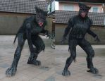 NPC Low Budget Werewolf Costume by FurForge