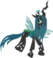 Queen Chrysalis by Vector-Brony