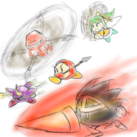 Kirby - More Spears by Minon