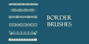 Border Brushes by SuicideOmen