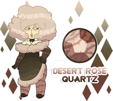 Desert Rose Quartz by FlareViper