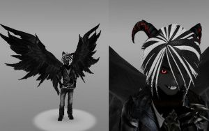 Devil Alex (Dark Angel mode 2nd Phase) (Shadelock) by Stormtali