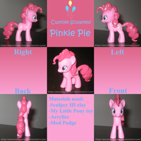 Custom Pinkie Pie by AleximusPrime