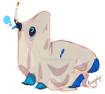 Extremely rare spoopy halloween smok subspecies by 5019