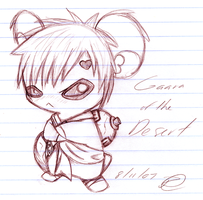 Gaara-Ham by SweetSonar
