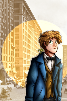New York and Newt by Sheltonee