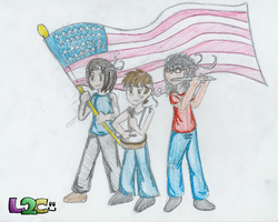 4th Of July by luigi2cool