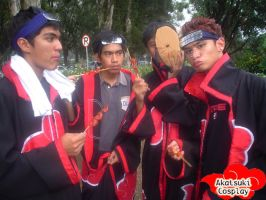 Akatsuki Behind The Scenes by flamable77