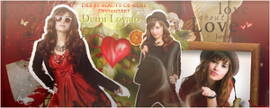 Demi Lovato-With love- by Beauty-of-Rose
